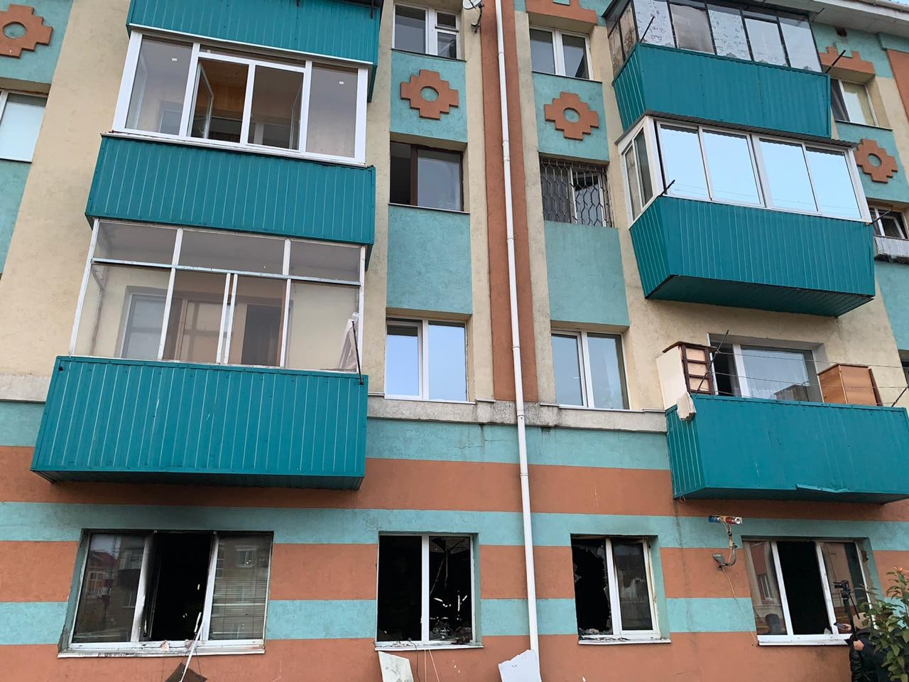 В Альметьевске на пожаре в многоквартирном доме погиб мужчина