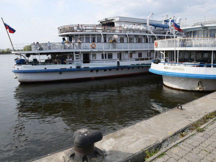 Навигация по Волге и Каме в Татарстане откроется 30 апреля