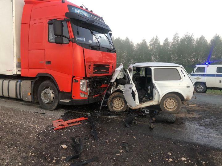 Трое братьев погибли в результате страшной аварии на трассе Казань-Ульяновск