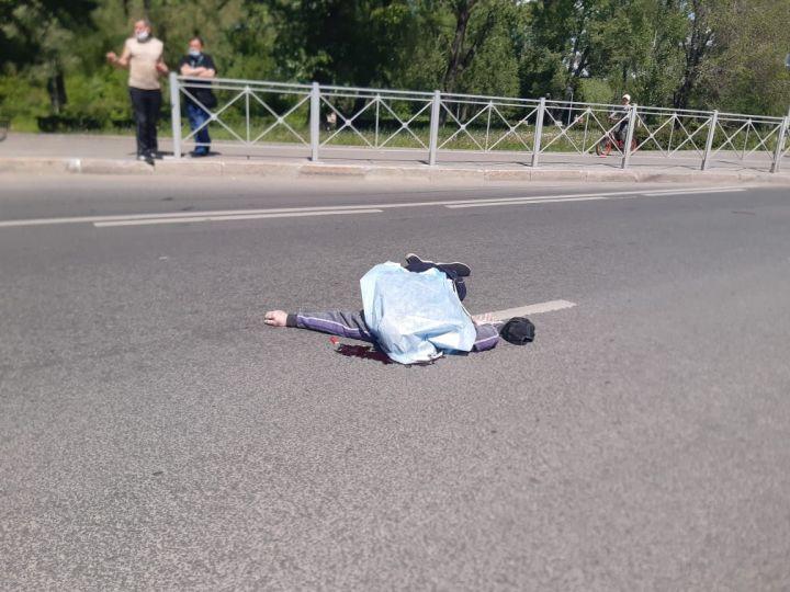 В Казани водитель иномарки сбил насмерть мужчину