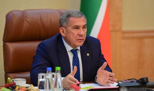 Рустам Минниханов провел ряд рабочих встреч в Москве