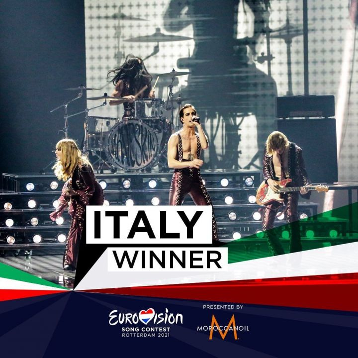 Евровидение-2021 выиграла Италия