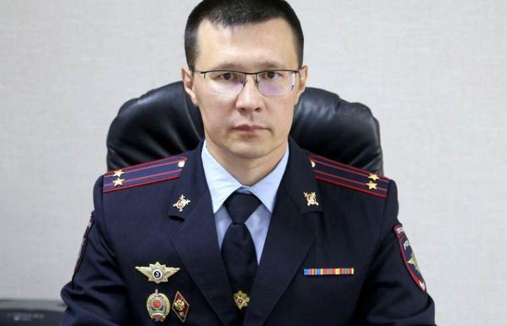 Раиль Гарипов стал новым начальником полиции Нижнекамска