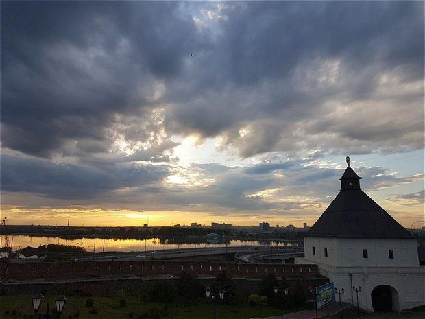 В Татарстане на выходных ожидаются дожди и усиление ветра
