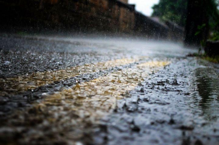 В День России в Татарстане прогнозируют дождь и грозу