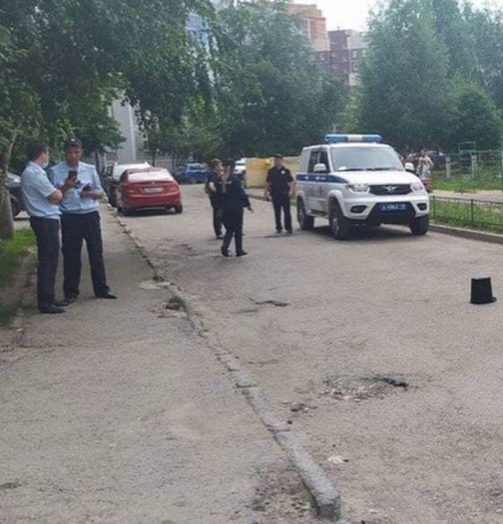 В Казани таксист устроил стрельбу у детского сада