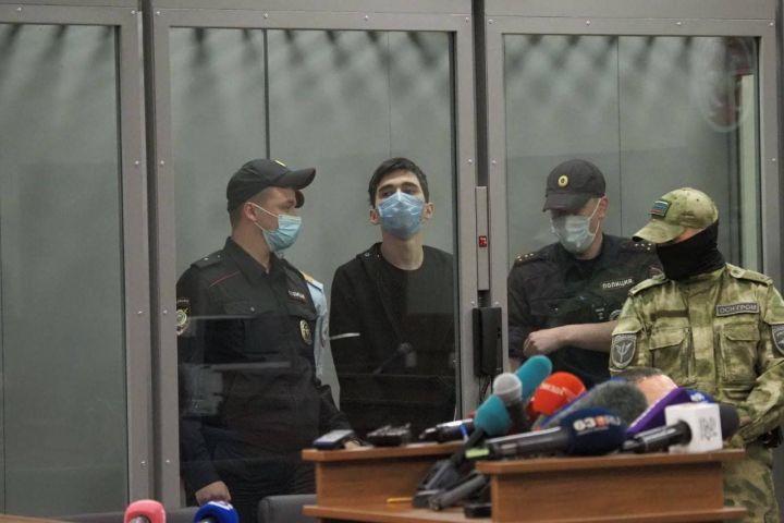 Обвиняемый в вооруженном нападении на гимназию 175 доставлен в СИЗО