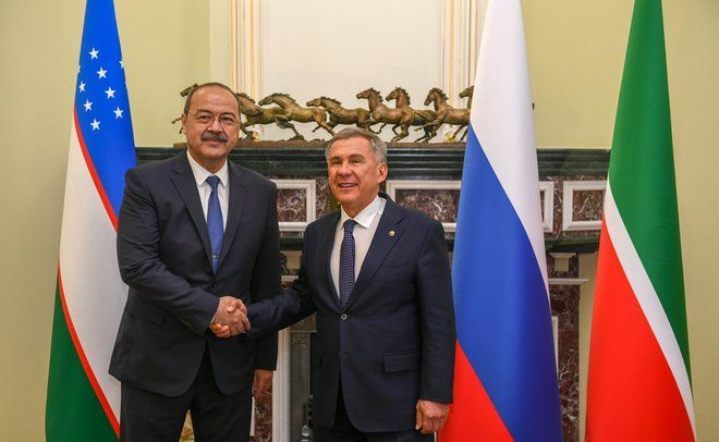 Президент Татарстана встретился с премьер-министром Узбекистана
