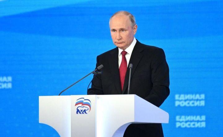 Владимир Путин: «Всех нас объединяет общая ответственность за успешное развитие страны»