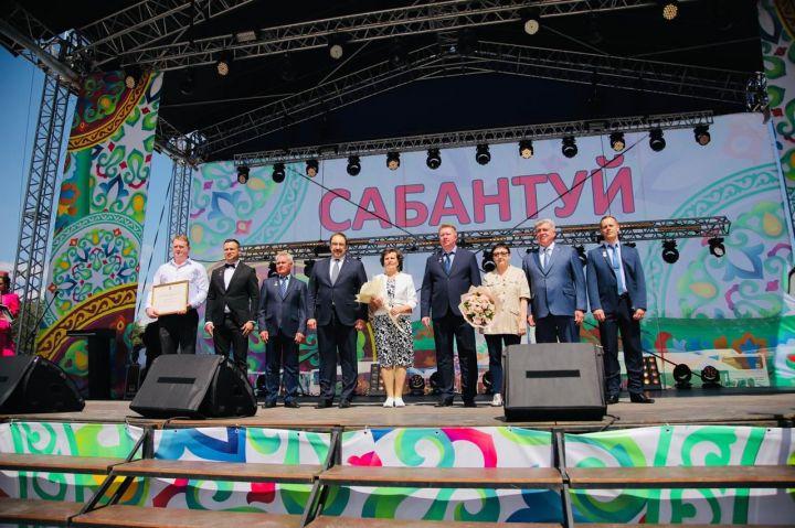Алексей Песошин посетил Сабантуй в Набережных Челнах