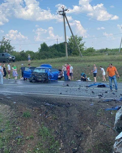 В Тукаевском районе произошла серьезная авария, в которой погиб ребенок