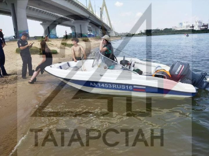 В Казани девушка упала с моста Миллениум