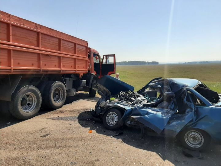 Два человека погибли в аварии на трассе в РТ