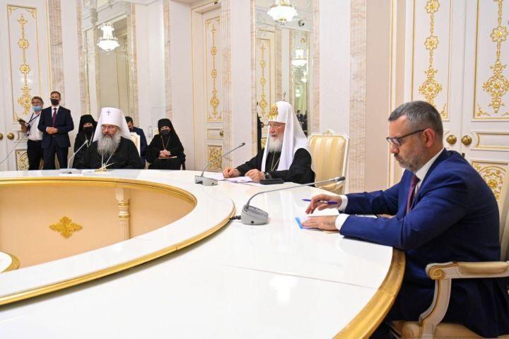 Минниханов встретился с Патриархом Кириллом