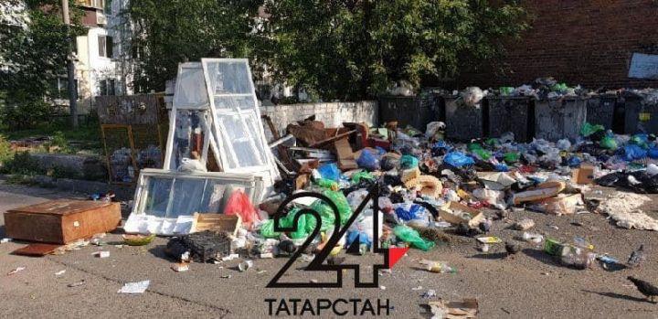Казанцы жалуются на огромную свалку около дома