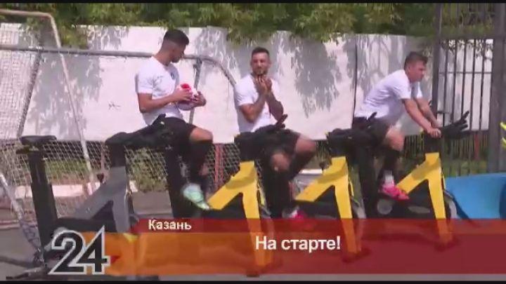 В Казани прошла открытая тренировка ФК «Рубин»