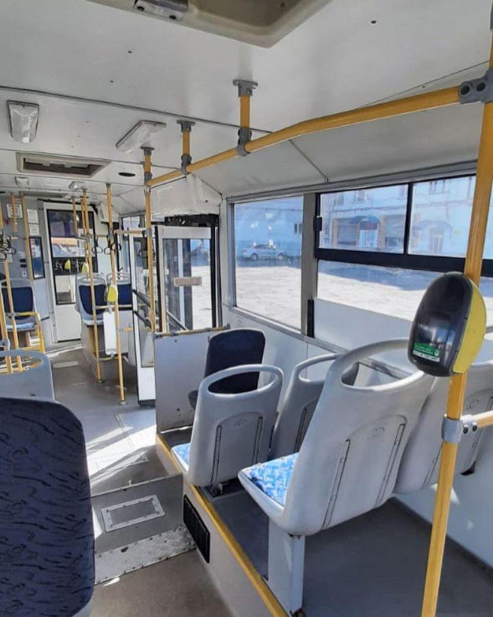 В Нижнекамске появился первый автобус, работающий без кондуктора