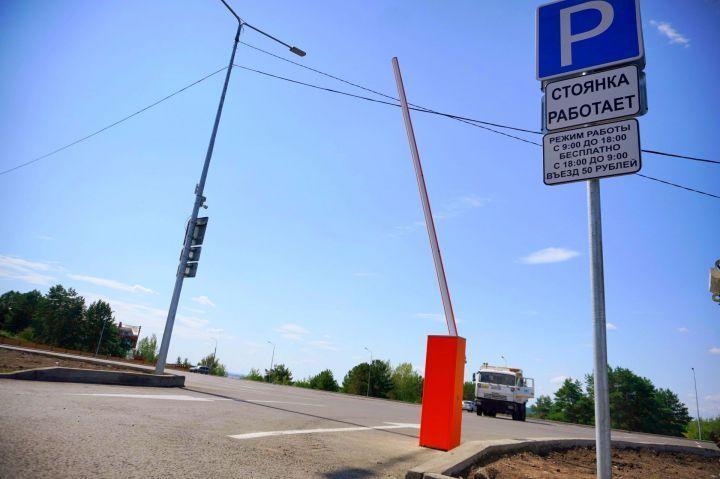В Челнах парковка около майдана будет платной