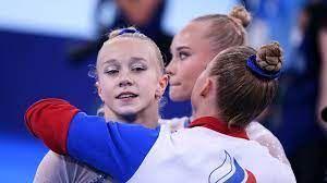 Сборная России по спортивной гимнастике завоевала олимпийское золото