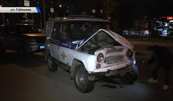 В Казани после ДТП с двумя патрульными машинами проводится служебная проверка