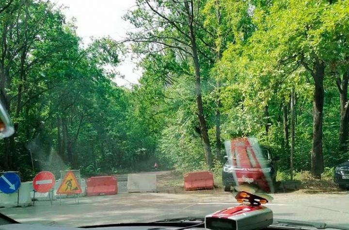 В Нижнекамске начали ремонт дороги, ведущей к дачным массивам