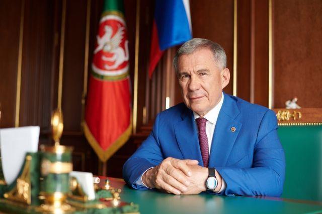 Рустам Минниханов ушел в отпуск