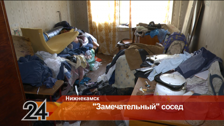Нижнекамцы жалуются на соседа, который носит в квартиру вещи с помоек