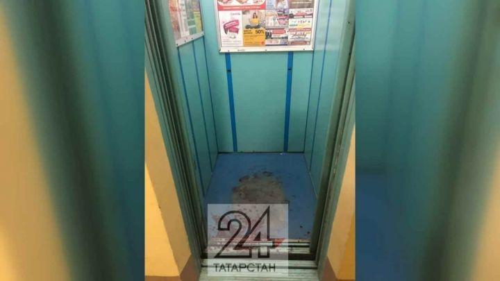 В одном из подъездов в Азино обнаружили лужи крови