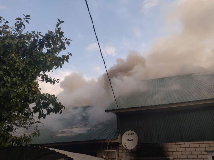 В РТ пожарный извещатель спас жизнь семьи с ребенком