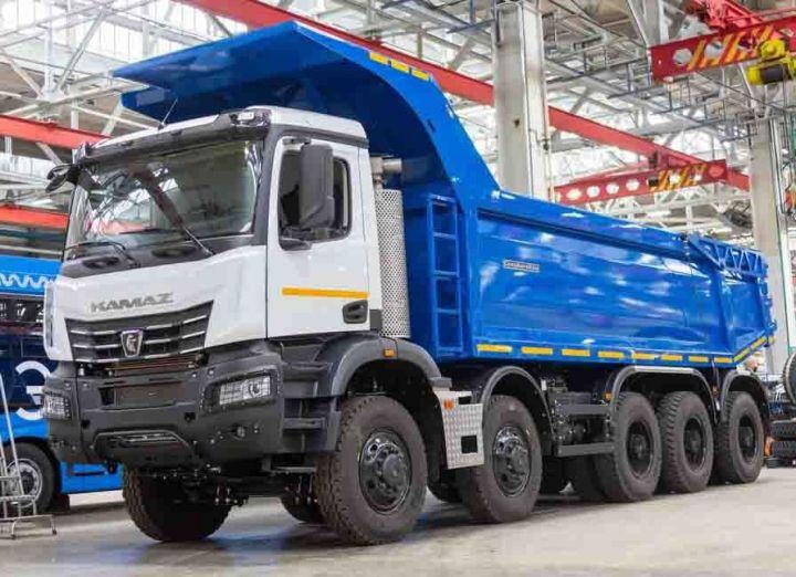 С начала 2021 года «КамАЗ» увеличил производство на треть