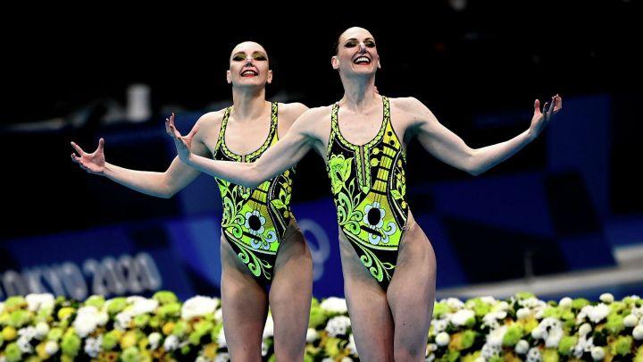 Две российские синхронистки завоевали золото на Олимпиаде в Токио
