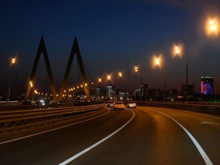 Сегодня ночью в Казани ограничат движение по мосту Миллениум