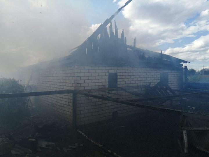В Татарстане на пожаре погибли 90 куриц