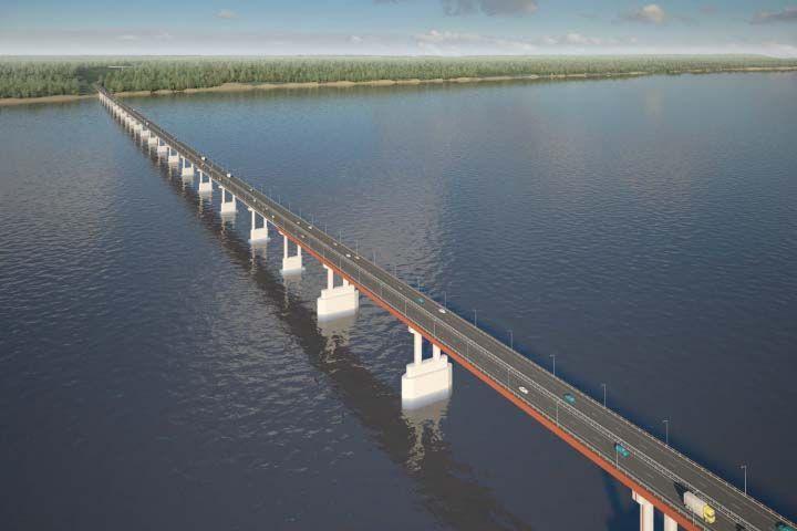В Татарстане построят новый мост через Волгу