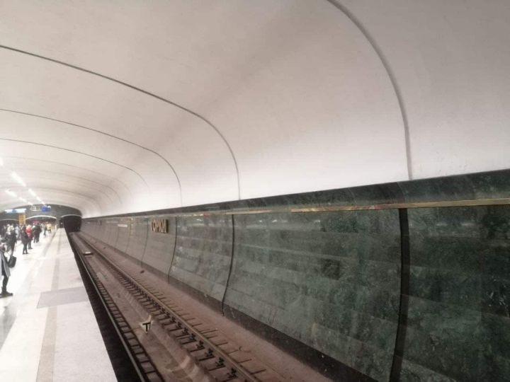 В Казани завершился косметический ремонт станции метро «Горки»