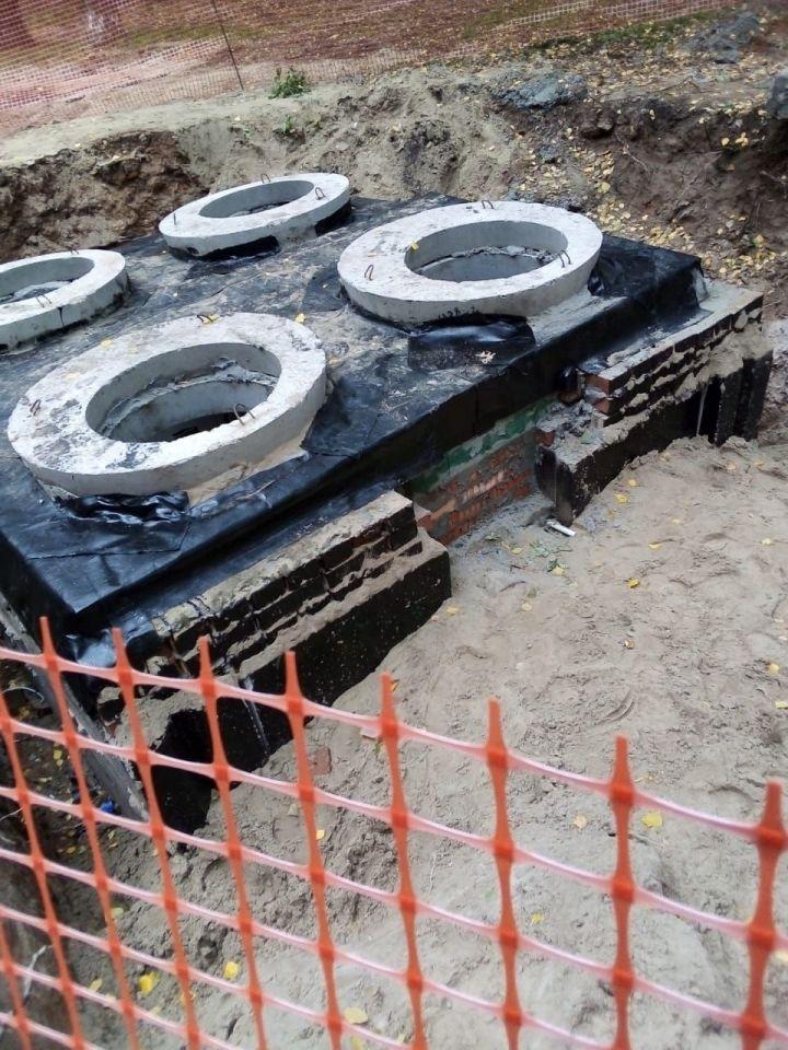В Казани жители домов на улице Новаторов пожаловались на ремонтные работы во дворе