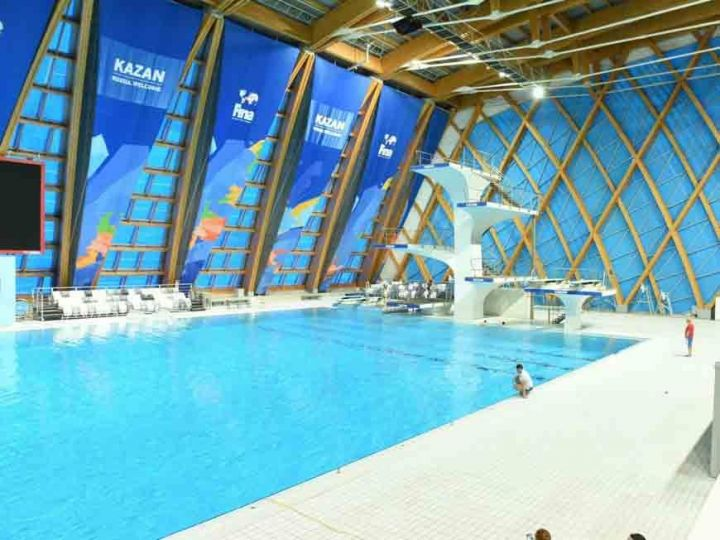 В Казани пройдет четвертый этап Кубка мира FINA по плаванию