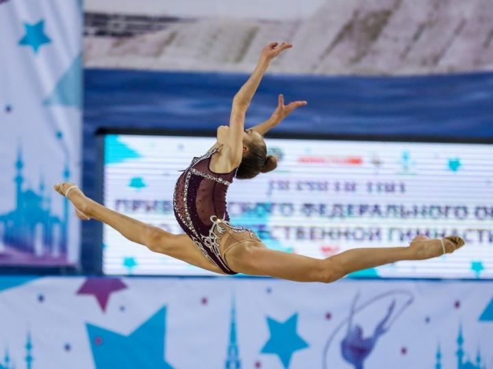 В Казани начались соревнования по художественной гимнастике «Шаг к триумфу»