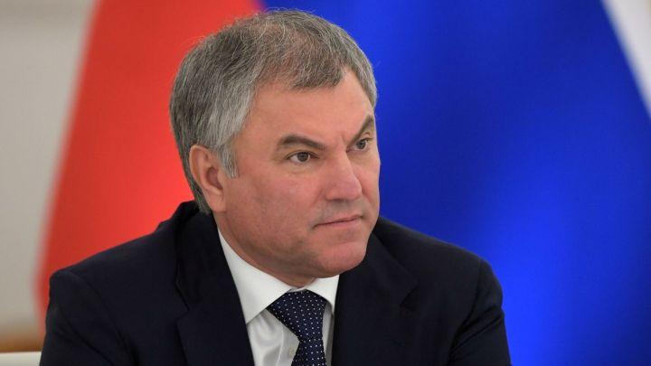 Путин заявил, что Володин достоин возглавить Госдуму следующего созыва