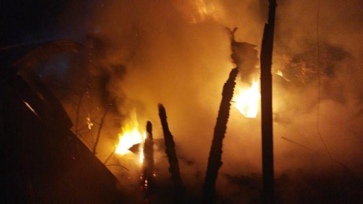 В Пестречинском районе дотла сгорел дачный дом – есть погибший