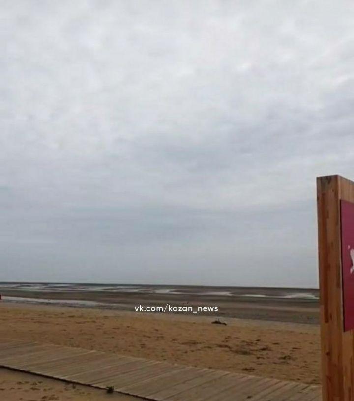 Экологи объяснили обнажение берега пляжа «Камское море» обмелением Куйбышевского водохранилища