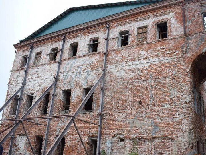 В усадьбе Сапугольцева в Казани начался очередной этап реставрации