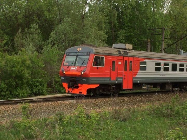 В Казани изменится график движения пригородных поездов